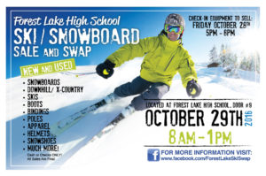 Forest Lake Ski Swap @ Forest Lake High School Field House   Forest Lake   Minnesota   United States